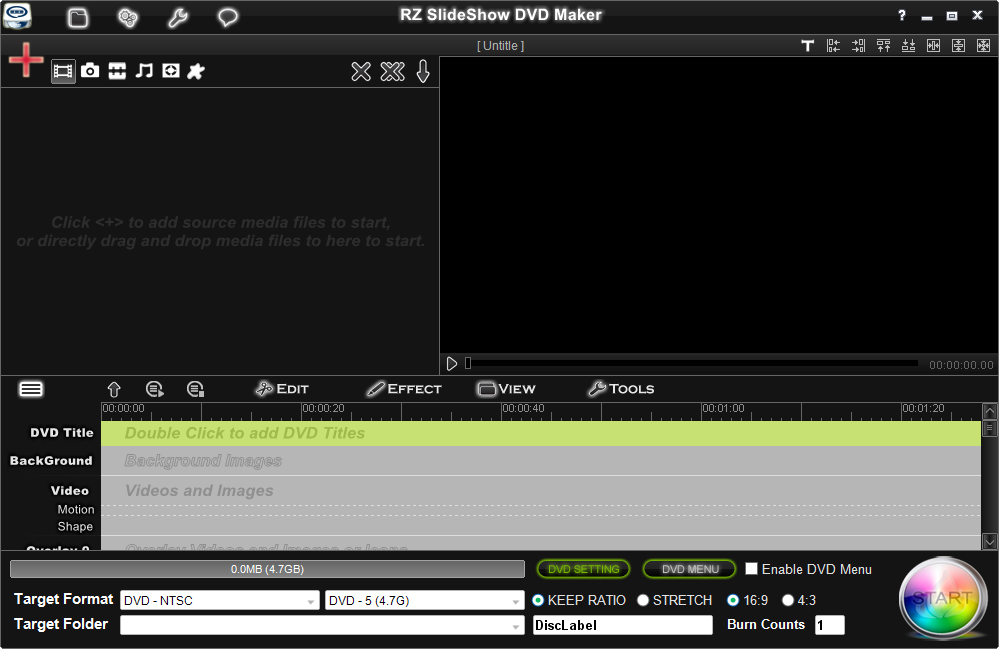 RZ Slideshow DVD Maker